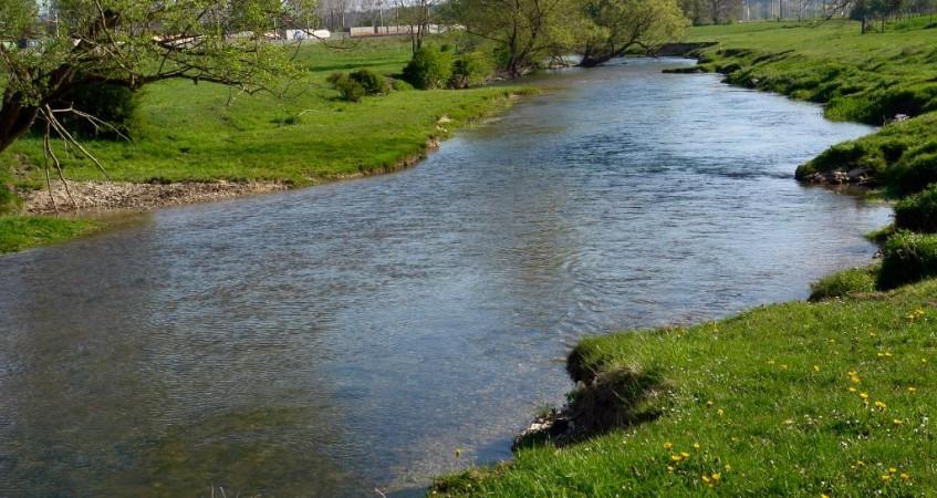 Levé de cours d'eau