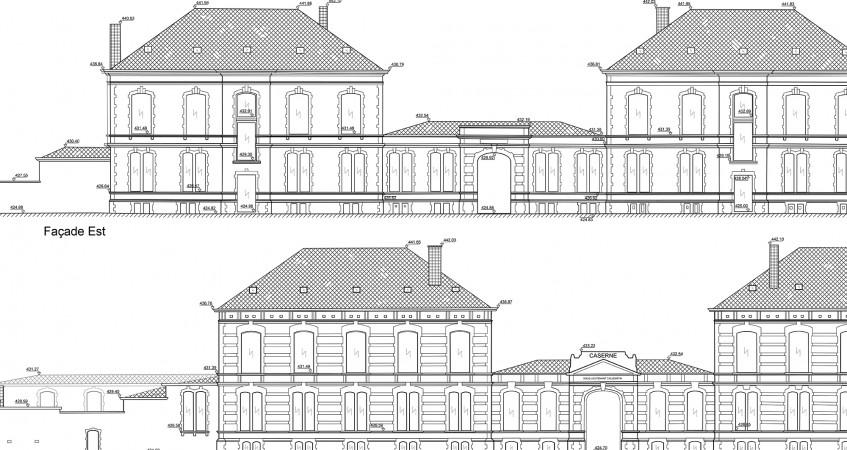 Plan de façade