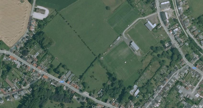 Photo aérienne projet immobilier