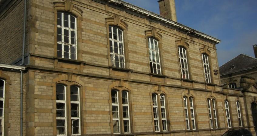 Relevé de façade et intérieur