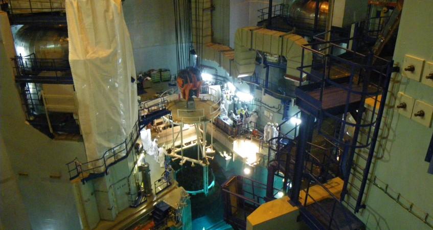 Maintenance en centrale nucléaire