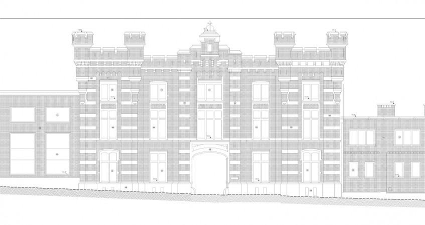 Elévation de façade