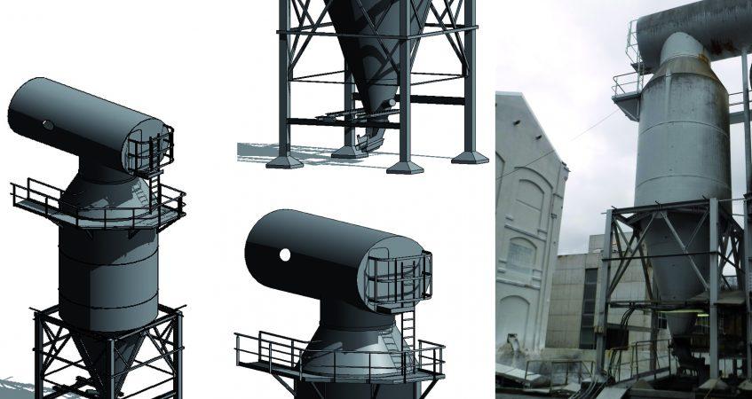 Modélisation structure métallique
