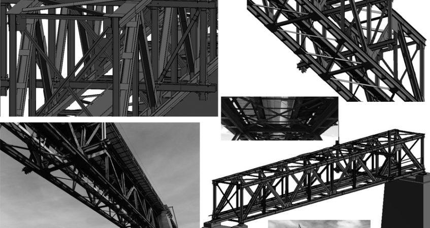 Modélisation de structures métalliques